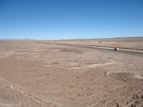 Trajet de Osorno � San Pedro de Atacama